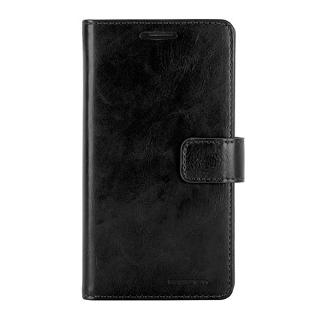 Goospery Blue Moon Diary Wallet Flip Cover Case by Mercury for Samsung Galaxy J5 (J500)