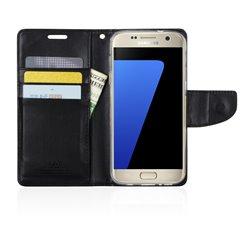 Goospery Bravo Diary Wallet Flip Cover Case by Mercury for Samsung Galaxy J7 (J700)