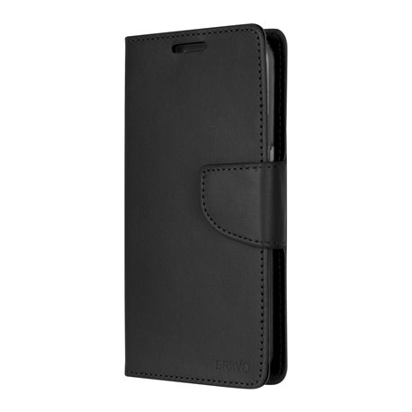 Goospery Bravo Diary Wallet Flip Cover Case by Mercury for Huawei Honor Note 8 (Note 8)