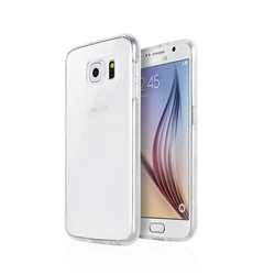 Goospery Clear Jelly TPU Bumper Case by Mercury for Apple iPhone 6S (Hole)