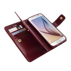 Goospery Mansoor Diary Flip Cover Case by Mercury For Samsung Galaxy S6 Edge (G925)
