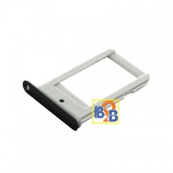 Single Card Tray for Samsung Galaxy S6 edge / G925 (Black)