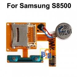High Quality Card Socket Flex Cable for Samsung Wave / S8500