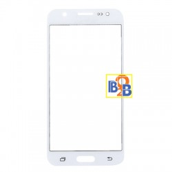 Front Screen Cover Plate / Outer Glass Lens for Samsung Galaxy J5 / J500 (White)
