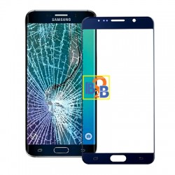 Front Screen Cover Plate / Outer Glass Lens for Samsung Galaxy Note 5 (Dark Blue)