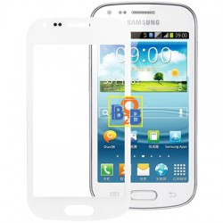 High Quality Front Screen Outer Glass Lens for Samsung Galaxy S Duos / S7562 (White)