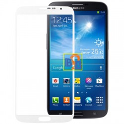 High Quality Front Screen Outer Glass Lens for Samsung Galaxy Mega 6.3 / i9200 (White)