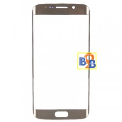 Front Screen Outer Glass Lens for Samsung Galaxy S6 edge / G925 (Gold)