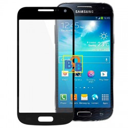High Quality Front Screen Outer Glass Lens for Samsung Galaxy S IV mini / i9190 (Black)
