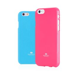 Goospery Color Pearl Jelly TPU Bumper Case by Mercury for Samsung Galaxy Mega 5.8 (I9150)