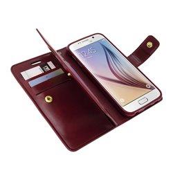 Goospery Mansoor Diary Wallet Flip Cover Case by Mercury for Asus 2 (Ze551Ml)
