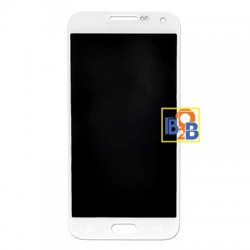 LCD Display with Touch Screen Digitizer Assembly Replacement for Samsung Galaxy E7 (White)