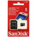 SanDisk microSDHC Memory Card 8 GB (SDSDQM-008G-B35A)
