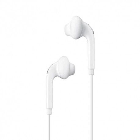 Samsung 3.5mm Earphones w Mic Dual Earbuds In-Ear Stereo Wired White for Samsung Galaxy J3, J5, J7, Note 3 4 5, Edge, S5, S6