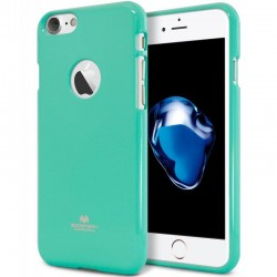 Goospery Color Pearl Jelly TPU Bumper Case by Mercury for Apple iPhone