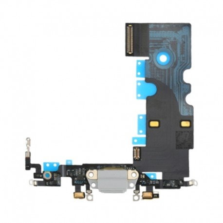 Charging Port Dock Connector Flex Cable Replacement for iPhone 8