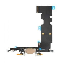 Charging Port Dock Connector Flex Cable Replacement for iPhone 8 Plus (8+)
