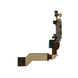 Charging Port Dock Connector Flex Cable Replacement for iPhone 4S
