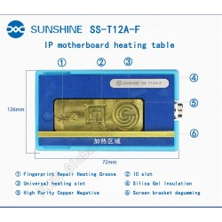 Sunshine SS-T12A-F Module Adaptor for ST-12A Motherboard Repair Heating Platform