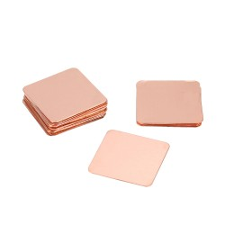 Heat Dissipating Copper Sheet for CPU BGA (Pack of 10 Pcs)