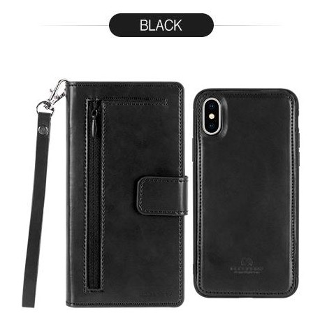 Goospery Detachable Diary Flip Cover Case by Mercury for Apple iPhone