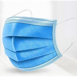 Disposable Ear-Loop Surgical 3-Layer Mask