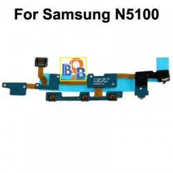 Volume Flex Cable with Microphone Cable for Samsung Galaxy Note 8.0 / N5100