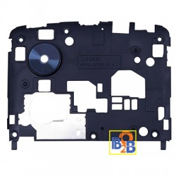 Back Plate Housing Camera Lens Panel for Google Nexus 5 / D820 / D821 (Black)