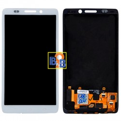 LCD Screen & Touch Screen Digitizer Assembly for Motorola Droid Ultra / XT1080(White)