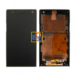LCD & Touchpad for Sony Xperia S / LT26i (Black)