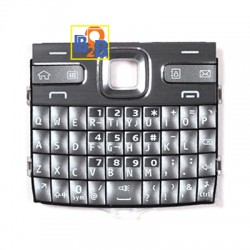 Mobile Phone Keypads Housing with Menu Buttons / Press Keys for Nokia N95 (Silver)