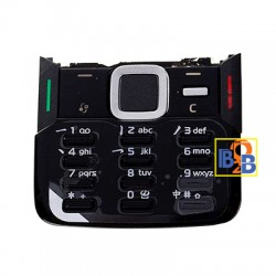 Mobile Phone Keypads Housing with Menu Buttons / Press Keys for Nokia N82 (Black)