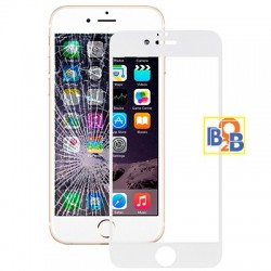 Full Screen Tempered Glass Film (0.3 mm) for iPhone 6 - White