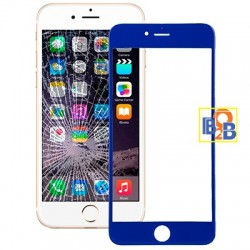 Front Screen Outer Glass Lens for iPhone 6 Plus(Dark Blue)