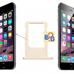Card Tray Replacement for iPhone 6(Gold)
