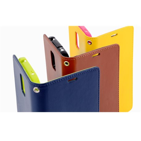 Goospery Rich Diary Wallet Flip Cover Case by Mercury for Apple iPhone 4S