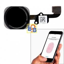 Home Button Flex Cable with Fingerprint Identification Function for iPhone 6 & 6 Plus(Black)