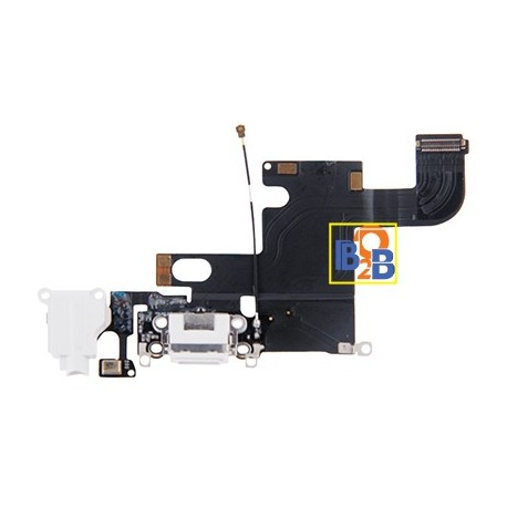 Charging Port Dock Connector Flex Cable Replacement for iPhone 6
