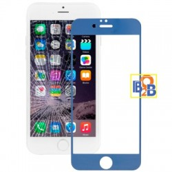 Plating Explosion-proof Tempered Glass Film for iPhone 6 & 6S(Blue)